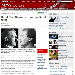 Hans Litten: The man who annoyed Adolf Hitler