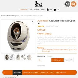 Automatic Self Cleaning Litter Box NZ