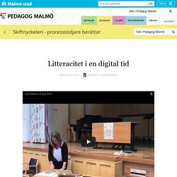 Litteracitet i en digital tid