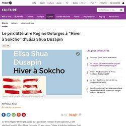 """Le prix littéraire Régine Deforges à """"Hiver à Sokcho"""" d'Elisa Shua Dusapin"""