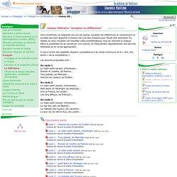 """réseau littéraire """"accepter la différence""""- Pédagogie - Direction des services départementaux de l'éducation nationale du 17"""