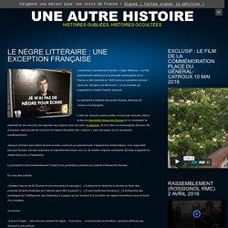 Le nègre littéraire : une exception française