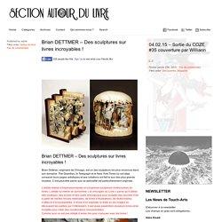 Autour du Livre – la section littéraire de Touch-arts.com » Brian DETTMER – Des sculptures sur livres incroyables !