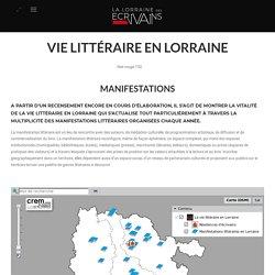 Vie littéraire – La Lorraine des Ecrivains