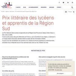 Prix littéraire des lycéens et apprentis de la Région Sud