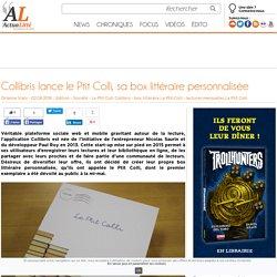 Collibris lance le Ptit Colli, sa box littéraire personnalisée