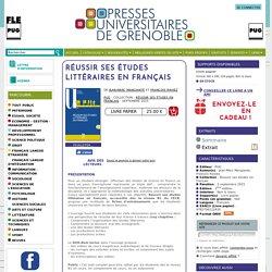 Réussir ses études littéraires en français - - De Jean-Marc Mangiante et François Raviez (EAN13 : 9782706122835)
