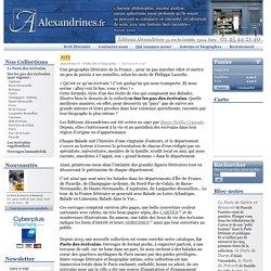Guides littéraires et biographies - Qui sommes nous? - Éditions Alexandrines