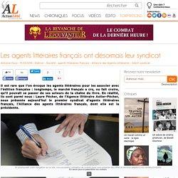 Les agents littéraires français ont désormais leur syndicat