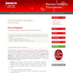 Parcours littéraires francophones » Chraibi