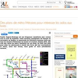 Des plans de métro littéraires pour intéresser les ados aux livres