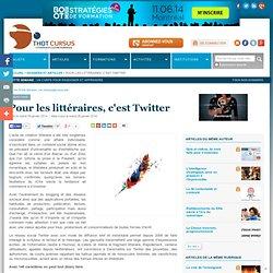Pour les littéraires, c'est Twitter