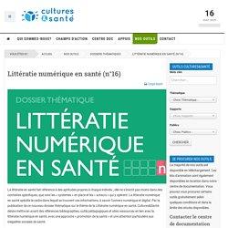 Littératie numérique en santé (n°16)