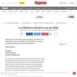 La littérature africaine vue du Web