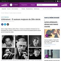 Littérature : 5 auteurs majeurs du XXe siècle