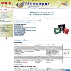 Art et littérature de jeunesse - Bibliographie - Télémaque