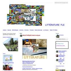Littérature française, Auteurs, Bibliothèques Audio, BD, Chansons, FLENET