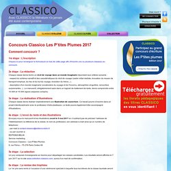 concours plume d'or