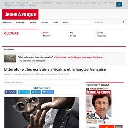 Littérature : les écrivains africains et la langue française