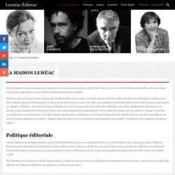 Leméac Editeur