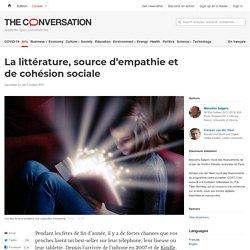 La littérature, source d'empathie et de cohésion sociale
