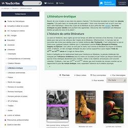 Littérature érotique : roman et livre érotique sur YouScribe