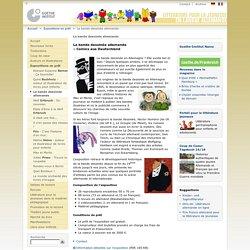 Littérature pour la jeunesse en langue allemande - Expositions en prêt - La bande dessinée allemande-Goethe-Institut