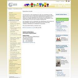 Littérature pour la jeunesse en langue allemande - Expositions en prêt-Goethe-Institut