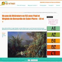 Littérature en FLE - Agir en Français