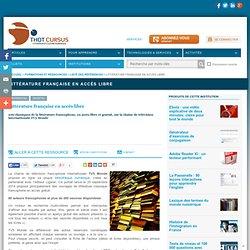 Littérature française en accès libre