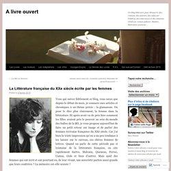 La Littérature française du XXe siècle écrite par les femmes