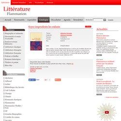 Littérature française - Soyez imprudents les enfants