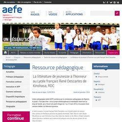 La littérature de jeunesse à l'honneur au Lycée français René Descartes de Kinshasa, RDC