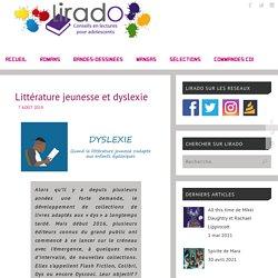 Littérature jeunesse et dyslexie