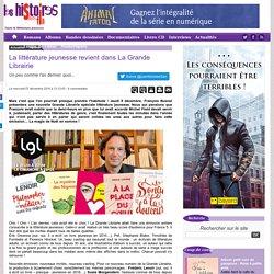 La littérature jeunesse revient dans La Grande Librairie