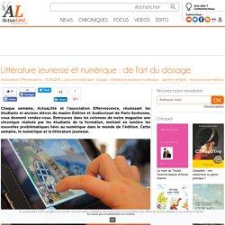 Littérature jeunesse et numérique: de l'art du dosage