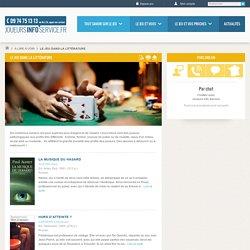 Le jeu dans la littérature (page 1) - Joueurs Info Service