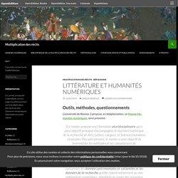 Littérature et humanités numériques