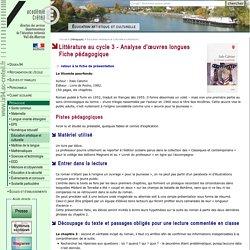 DSDEN du Val-de-Marne- Littérature au cycle 3 - Les œuvres longues