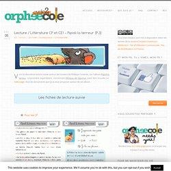 Orphéécole - Littérature 3-4H