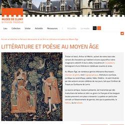 Littérature - poésie au Moyen Âge