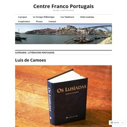 Littérature portugaise – Centre Franco Portugais