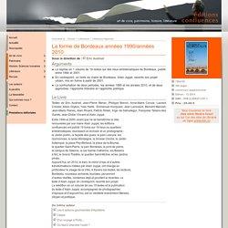 Littérature régionale : La forme de Bordeaux années 1990/années 2010