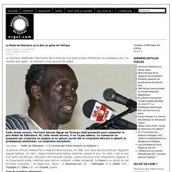 Le Nobel de littérature ou le déni du génie de l'Afrique - nrgui.com - Nouvelle République de Guinée
