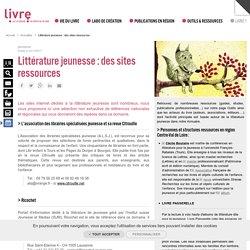Littérature jeunesse : des sites ressources