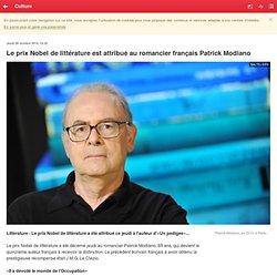 Le prix Nobel de littérature est attribué au romancier français Patrick Modiano