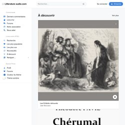Litterature audio.com | Livres audio