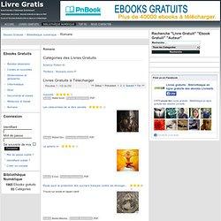Livres Romans et Littérature Gratuits à Télécharger