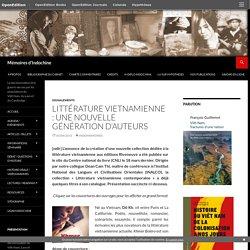 Littérature vietnamienne : une nouvelle génération d'auteurs