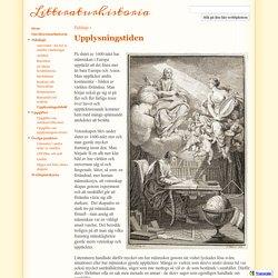 Upplysningstiden - Litteraturhistoria